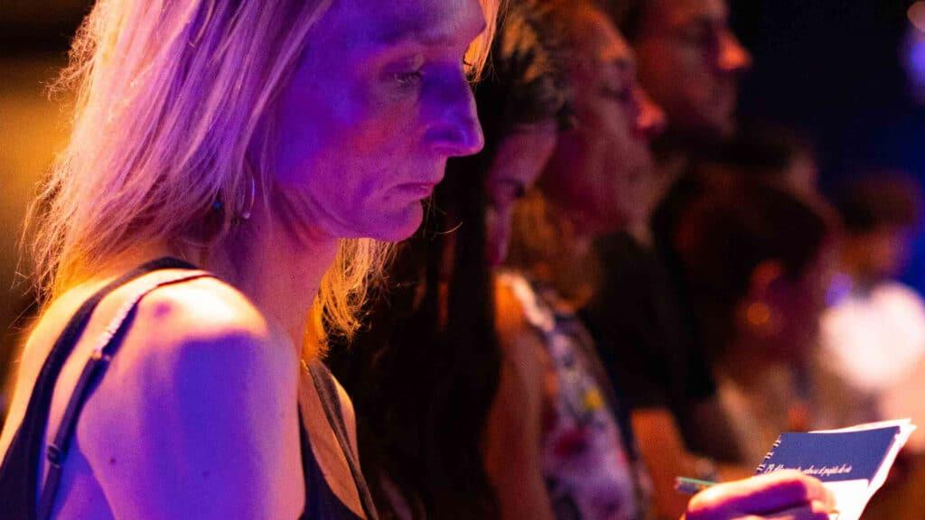 Participants à un séminaire PNL de Paul Pyronnet