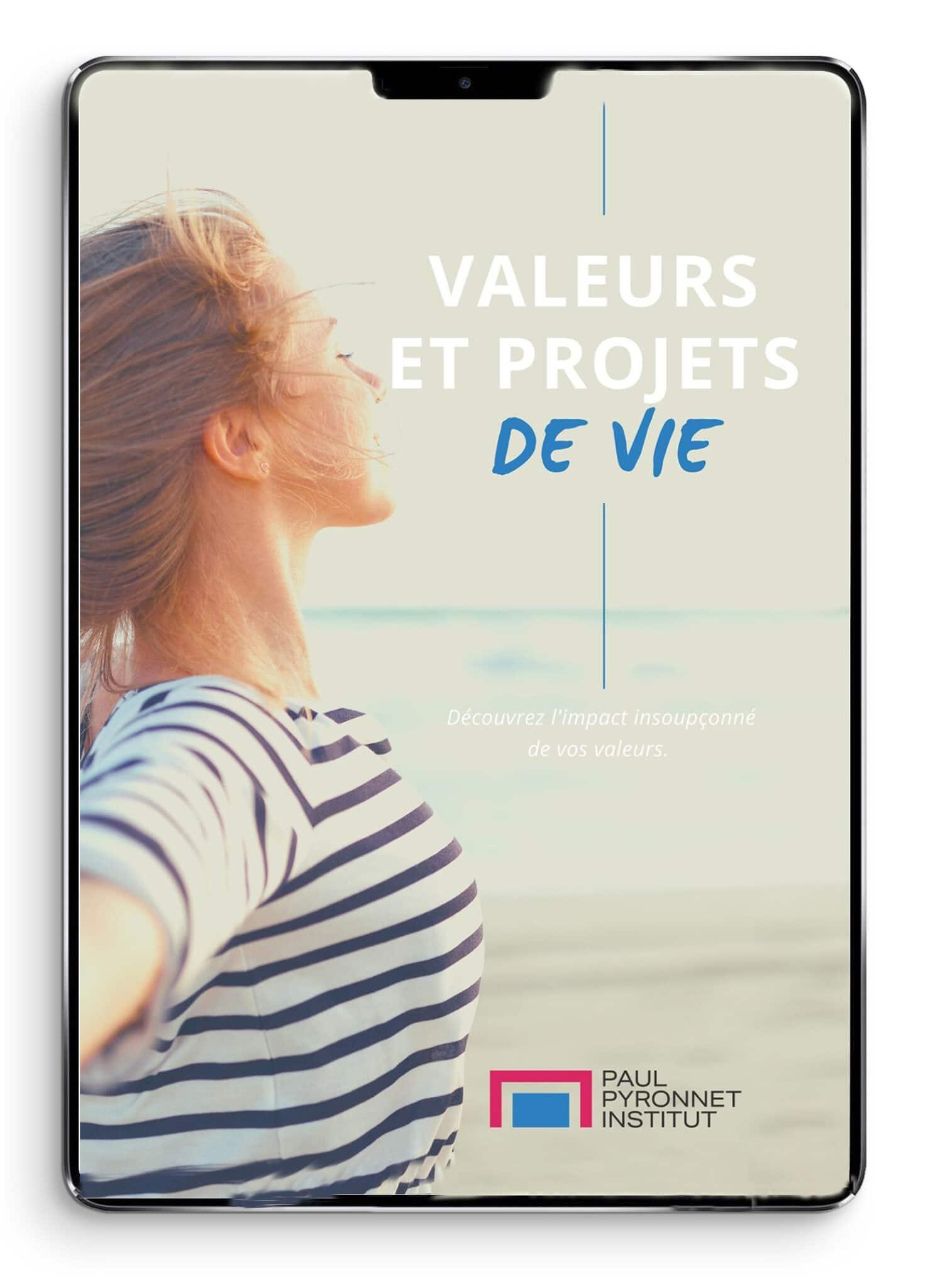 Guide PDF numerique - valeurs et projet de vie- paul pyronnet